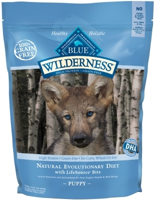 Blue Buffalo BLUE Wilderness Dry Dog Food Puppy Recipe, Chicken, 11 lbs