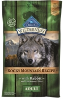 Blue Buffalo BLUE Wilderness Dry Dog Food Rocky Mountain Recipe, Rabbit, 10 lbs