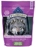 Blue Buffalo BLUE Wilderness Dry Dog Food Small Bite Recipe, Chicken, 11 lbs