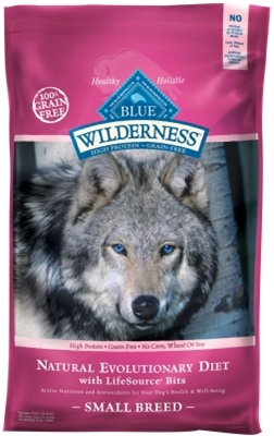 Blue Buffalo BLUE Wilderness Dry Dog Food Small Breed Recipe, Chicken, 11 lbs
