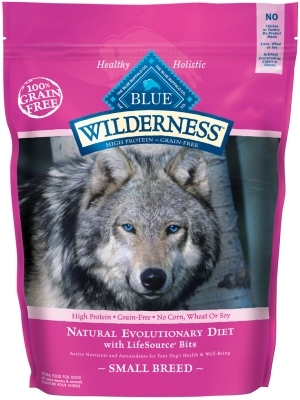 Blue Buffalo BLUE Wilderness Dry Dog Food Small Breed Recipe, Chicken, 4.5 lbs