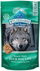 Blue Buffalo BLUE Wilderness Trail Dog Treats, Duck Biscuits, 10 oz
