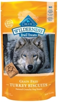 Blue Buffalo BLUE Wilderness Trail Dog Treats, Turkey Biscuits, 10 oz