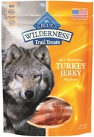 Blue Buffalo BLUE Wilderness Trail Dog Treats, Turkey Jerky, 3.25 oz