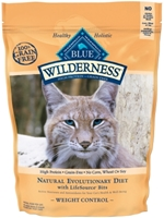 Blue Buffalo BLUE Wilderness Weight Control Dry Cat Food, Chicken & Rice, 2 lbs