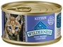 Blue Buffalo BLUE Wilderness Wet Cat Food Kitten Recipe, Chicken, 3 oz, 24 Pack
