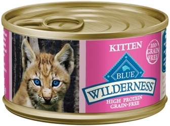 Blue Buffalo BLUE Wilderness Wet Cat Food, Salmon, 3 oz, 24 Pack
