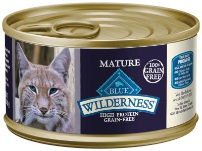 Blue buffalo blue wilderness wet cat food senior recipe chicken blue buffalo blue wilderness wet cat food senior recipe chicken 55 oz 24 forumfinder Images
