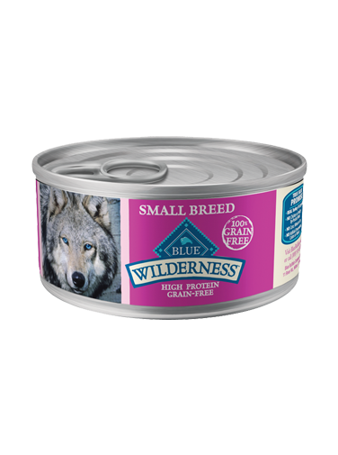 Blue Buffalo BLUE Wilderness Wet Small Breed Dog Food, Turkey & Chicken Grill, 12.5 oz, 12 Pack