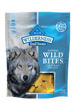 Blue Buffalo BLUE Wilderness Wild Bites Dog Treats,Chicken, 2.25 oz