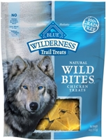Blue Buffalo BLUE Wilderness Wild Bites Dog Treats,Chicken, 3.25 oz