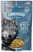 Blue Buffalo BLUE Wilderness Wild Bits Dog Training Treats,Chicken, 4 oz