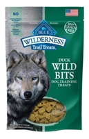 Blue Buffalo BLUE Wilderness Wild Bits Dog Training Treats,Duck, 4 oz