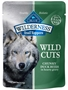 Blue Buffalo BLUE Wilderness Wild Cuts for Dogs, Duck & Gravy, 3 oz, 24 Pack