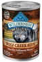 Blue Buffalo BLUE Wilderness Wolf Creek Stew, Savory Salmon Stew, 12.5 oz, 12 Pack
