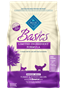 Blue Buffalo Dry Cat Food Basics, Turkey & Potato, 11 lbs