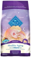 Blue Buffalo Dry Cat Food Healthy Aging Senior Recipe, Chicken & Rice, 3 lbs