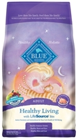 Blue Buffalo Dry Cat Food Healthy Living Adult Recipe, Chicken & Rice, 15 lbs