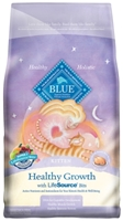 Blue Buffalo Dry Cat Food Healthy Living Adult Recipe, Chicken & Rice, 3 lbs