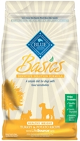 Blue Buffalo Dry Dog Food Basics Healthy Weight Recipe, Turkey & Potato, 4 lbs