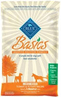 Blue Buffalo Dry Dog Food Basics Large Breed Recipe, Turkey & Potato, 24 lbs
