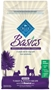 Blue Buffalo Dry Dog Food Basics Senior Recipe, Turkey & Potato, 4 lbs