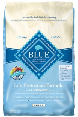 Blue Buffalo Dry Dog Food Life Protection Formula Puppy Recipe, Chicken & Rice, 15 lbs