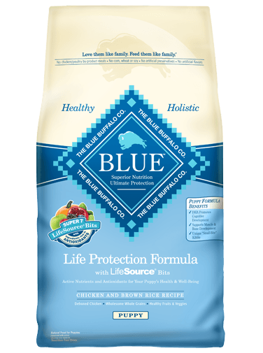 Blue Buffalo Dry Dog Food Life Protection Formula Puppy Recipe, Chicken & Rice, 6 lbs