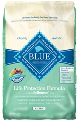 Blue Buffalo Dry Dog Food Life Protection Formula Puppy Recipe, Lamb & Oatmeal, 15 lbs