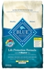 Blue Buffalo Dry Dog Food Life Protection Formula Small Bite Senior Recipe, Chicken & Rice, 15 lbs