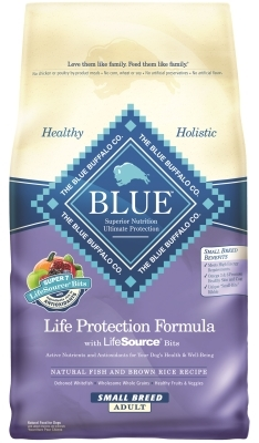 Blue Buffalo Dry Dog Food Life Protection Formula Small Breed Adult Recipe, Chicken & Rice, 15 lbs
