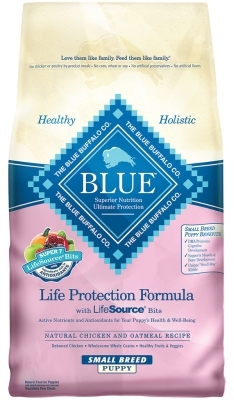 Blue Buffalo Dry Dog Food Life Protection Formula Small Breed Puppy Recipe, Chicken & Oatmeal, 6 lbs