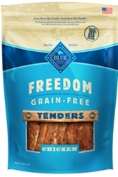 Blue Buffalo Freedom Tenders Grain,Free Dog Treats, Chicken, 7 oz