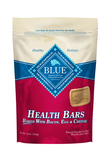 Blue Buffalo Health Bar Dog Treats, Bacon, Egg & Cheese, 16 oz