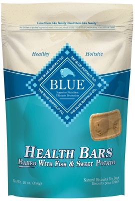 Blue Buffalo Health Bar Dog Treats, Fish & Sweet Potato, 16 oz