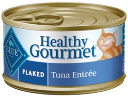Blue Buffalo Healthy Gourmet Wet Cat Food, Flaked Tuna, 3 oz, 24 Pack