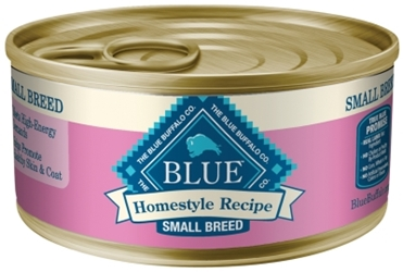 Blue Buffalo Homestyle Wet Small Breed Dog Food, Chicken, Vegetables & Rice, 5.5 oz, 24 Pack