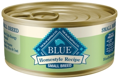 Blue Buffalo Homestyle Wet Small Breed Dog Food, Lamb, Vegetables & Rice, 5.5 oz, 24 Pack