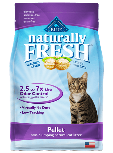 Blue Buffalo Naturally Fresh Natural Cat Litter, Pellet, 14 lbs.