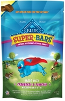 Blue Buffalo Super Bars Natural Dog Treats, Cranberry & Pumpkin, 7 oz