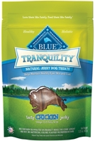 Blue Buffalo Tranquility Natural Dog Treats, Chicken Jerky, 3.25 oz