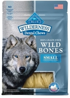 Blue Buffalo Wild Bones Natural Dental Chews, Small, 10 oz