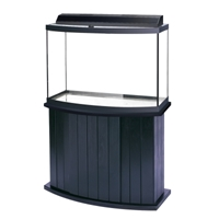 Bowfront Poplar Stand 45 Gal