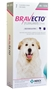 Bravecto 1400 mg for Dogs 88-123 lbs, 1 Chewable Tablet (Pink)