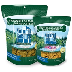 Brown Rice & Lamb Formula Dog Treats, 14 oz - 12 Pack