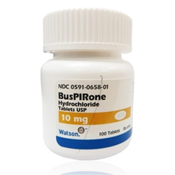 Buspirone 10 mg, 100 Tablets