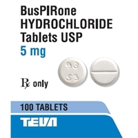 Buspirone 5 mg, 100 Tablets