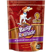 Busy Rollhide Small/Medium, 12 oz - 5 Pack