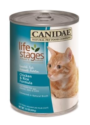 Canidae Chicken & Rice Canned Cat Food, 13 oz, 12 Pack