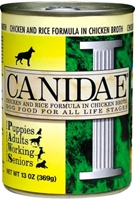 Canidae Chicken & Rice Canned Dog Food, 13 oz, 12 Pack